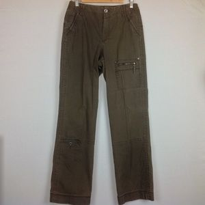 Eddie Bauer Outdoor Cargo Pants Womens 8 Tall
